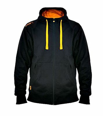 Fox Leightweight Zipped Hoody Black/Orange Gr. M