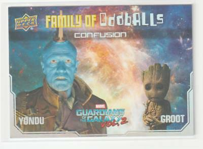 2017 Guardians of the Galaxy Family of Oddballs F11 Confusion Yondu Groot