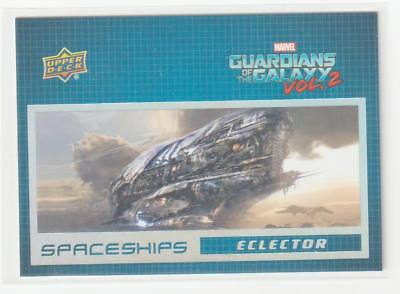 2017 Upper Deck Guardians of the Galaxy Vol 2 Space Ships SS2 Eclector