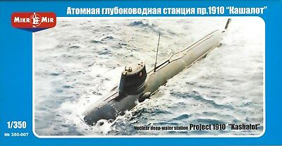 "MIKROMIR 350-007 1:350 Nuclear Deep-Water Station Project 1910 ""KASHALOT"""