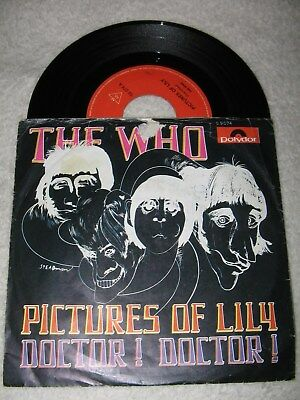 Beat-Single: The Who - Pictures of Lily, 1967, 1,--