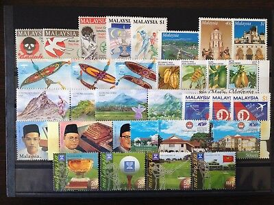 MALAYSIA NEW ISSUES, XF MINT NEVER HINGED FRESH GROUP OF STAMPS, Ma57