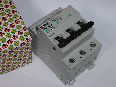 Main Switch 100A 240V 415V Din 3 Pole Saa Switchboard Industrial 3 Phase