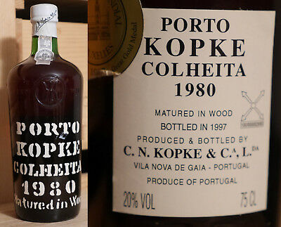 1980er Kopke Colheita Port - Bottled 1997 *****