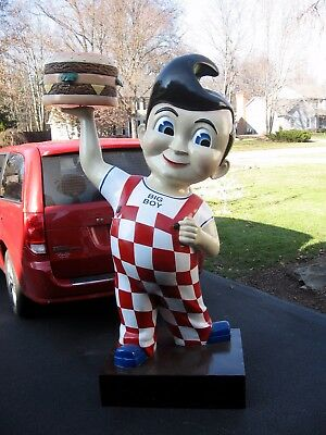 7 1/2 Foot Bobs Big Boy Statue. Made Of Fiberglass Local Pick Up Only