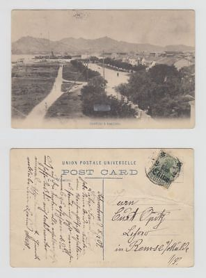 China Old Postcard Kakchio And Swatow To Germany 1909 !!