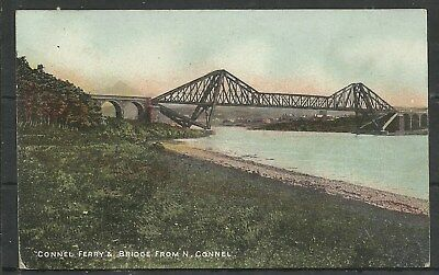 Postcards : Scotland Argyll Connell Bridge from North Conell posted 1907