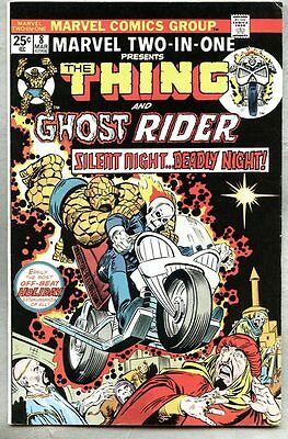 MARVEL TWO-IN-ONE #8 THING & GHOST RIDER (1975) Early GHOST RIDER
