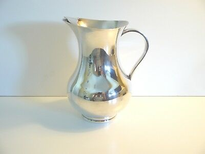 Christofle Albi Pattern Silver Plate Water Pitcher
