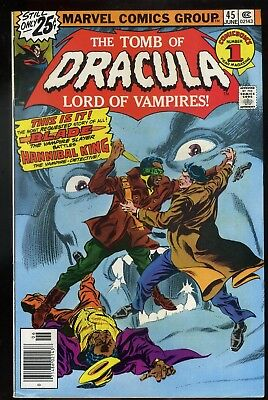 Tomb of Dracula #45 VF/NM   Blade Appearance