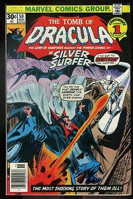 Tomb of Dracula #50 VF/NM  Silver Surfer Appearance