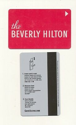 the BEVERLY HILTON--Beverly Hills,CA---Room key--K-70
