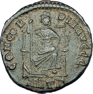 THEODOSIUS I the GREAT 378AD Antioch Authentic Ancient Roman Coin i65888