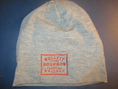 Grey BULLEIT BOURBON Embroidered Logo Knit Hat New Without Tag