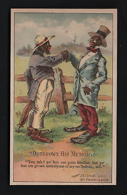 1880s Trade Card - Arbuckle Coffee - Black Americana from Judge