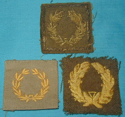 Original WWII Theater Made U.S. Army Meritorious Unit Commendation Lot - Bullion
