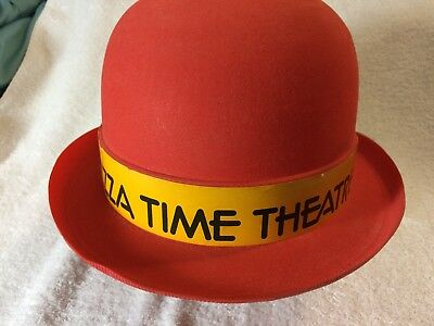 Chuck E Cheese Pizza Time Theatre UNIFORM DERBY HAT -  EXTREMELY RARE!