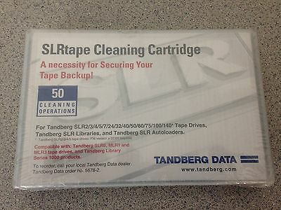 NEW/SEALED - Tandberg SLR MLR Dry Process Cleaning Tape Cartridge P/N 5678-2