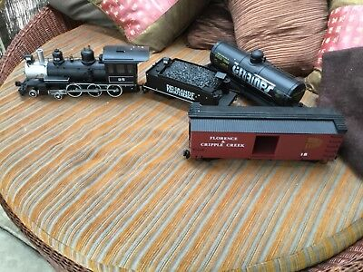 G scale Bachman Rocky Mountain Train and rolling stock