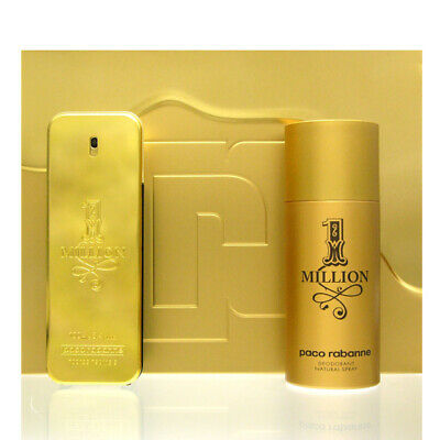 Paco Rabanne One 1 Million Set Eau de Toilette EDT 100 ml + DS 150 ml NEU OVP