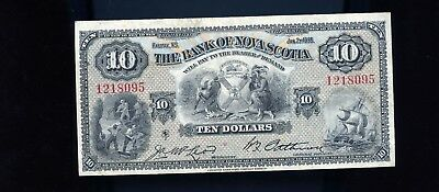 1935 Bank Nova Scotia $10 BL2088