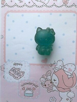 Gomme collection eraser vintage 80s Hello Kitty jelly bleue