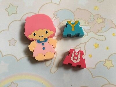 Gomme collection eraser vintage 80s Sanrio Little Twin Stars puzzle