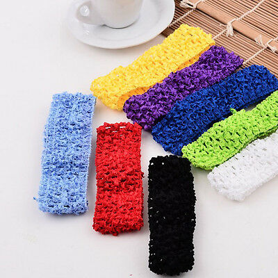 10PCS Crochet Headbands Assorted Variety Pack Babies Hair Band Black Friday