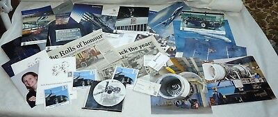 Rolls-Royce 100 year Centenary, Factory visit, Brochure+ collection LOADS