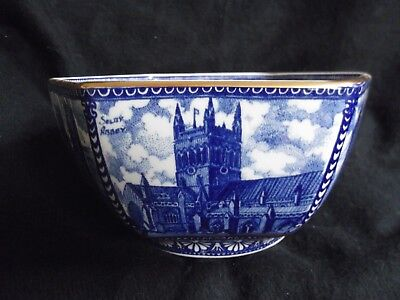 Ringtons Hexagonal Castles and Cathedrals Bowl by Wade (Boxed)