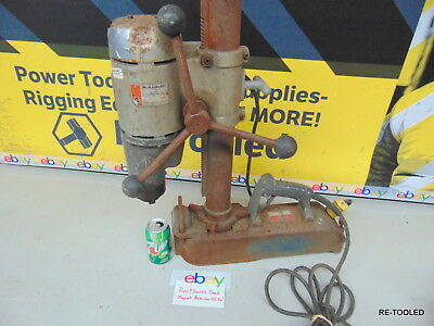 """Black & Decker MAGNETIC DRILL PRESS ELECTRIC 1554 1 1/4"""" TWO SPEED 120V TYPE 1"""