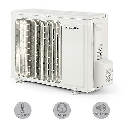 Split Klimaanlage Klimagerät Air Conditioner Büro lüfter Ventilator EEK A++