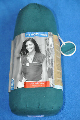 Genuine Moby  Wrap  in excellent condition teal colour