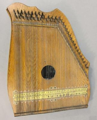 Beautiful Antique Zither Circa 1880 49 Strings