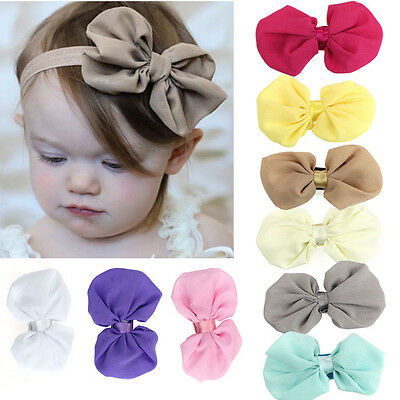 9PCS Baby Girls Flower Headbands Hairbands Photography Hair Accessories New