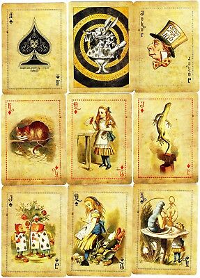 "SUPERB PACK ""Bicycle Type - Curious Deck of Alice (Superb)"" Playing Cards"