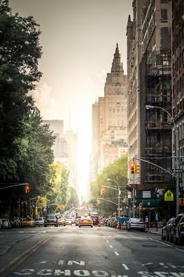 Central Park West New York City Photo Art Print Poster 24x36 inch