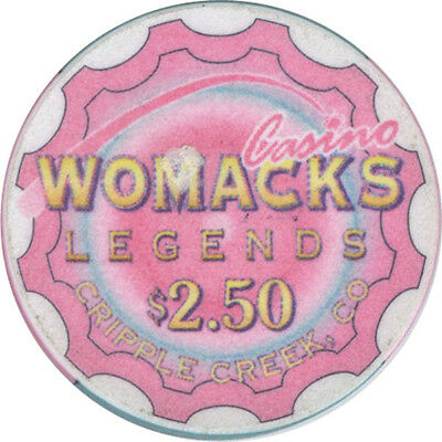 Womck's Legends Casino - $2.50 Casino Chip