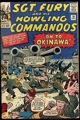 Sgt Fury and His Howling Commando #10 F/VF