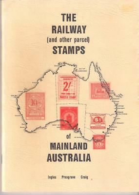 Book AUSTRALIA RAILWAY (and other parcel) STAMPS of Mainland Australia