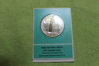 1970-TOKEN-COIN-MEDAL-TOKEN AND MEDAL SOCIETY-10th ANNUAL CONVENTION