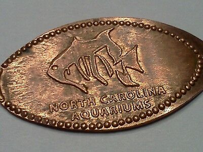 NORTH CAROLINA AQUARIUMS-Elongated / Pressed Penny 0-215