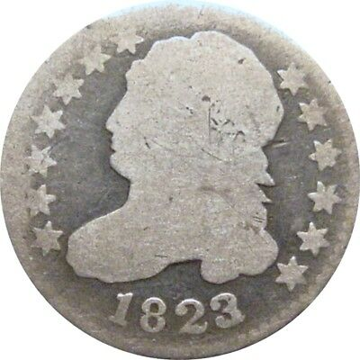 1823/2 Bust Dime--About Good