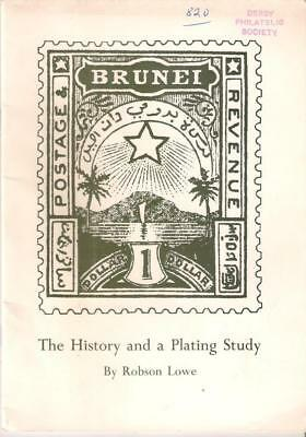 Book BRUNEI The History and a Plating Study - Robson Lowe