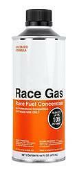 Race Gas 100016;Fuel Additive; For 87-93 Octane Gas; Boosts Octane to 100-105;