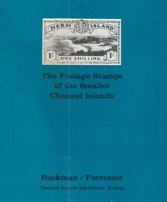 Book POSTAGE STAMPS OF THE SMALLER CHANNEL ISLANDS
