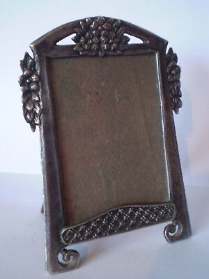 Stunning Arts & Crafts Style Metal Photo Frame