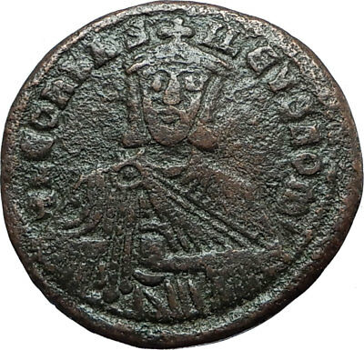 LEO VI the WISE 886AD Constantinople Follis Medieval Byzantine Coin i66000