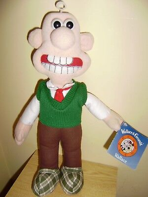 Wallace from Wallace and Gromit plush 15 inch official soft toy