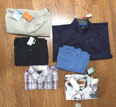 6 items Size M Men's clothing, all new with tags